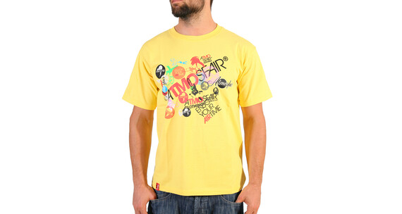 Atmosfair Men's Allover Tee yellow